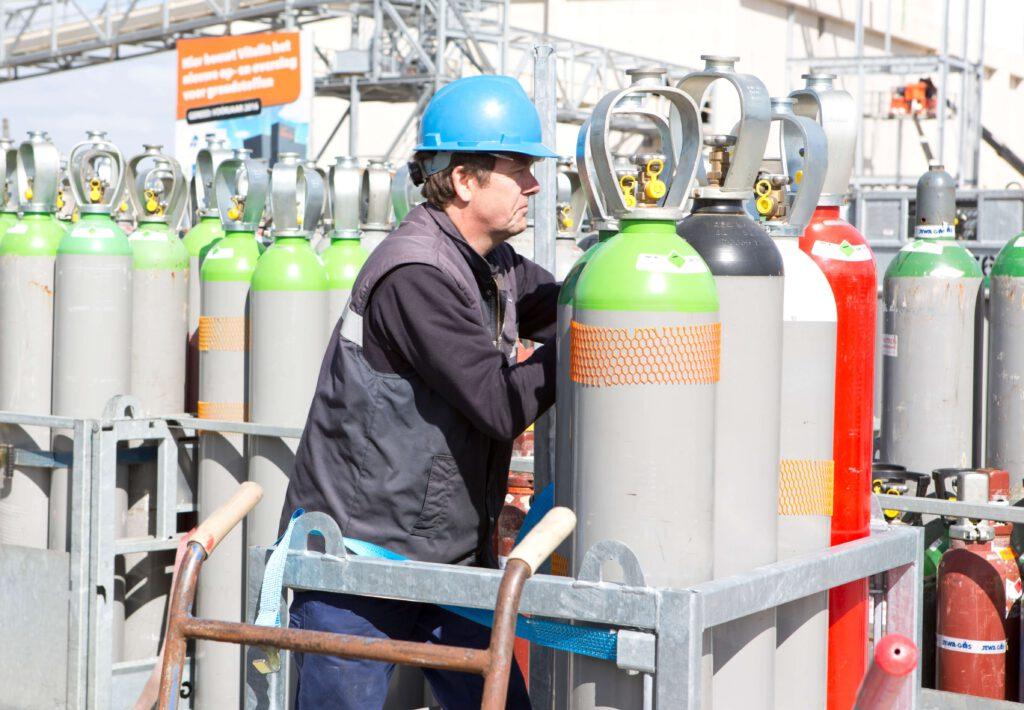 Gascilinders voor industriële gassen: wat de gebruiker moet weten