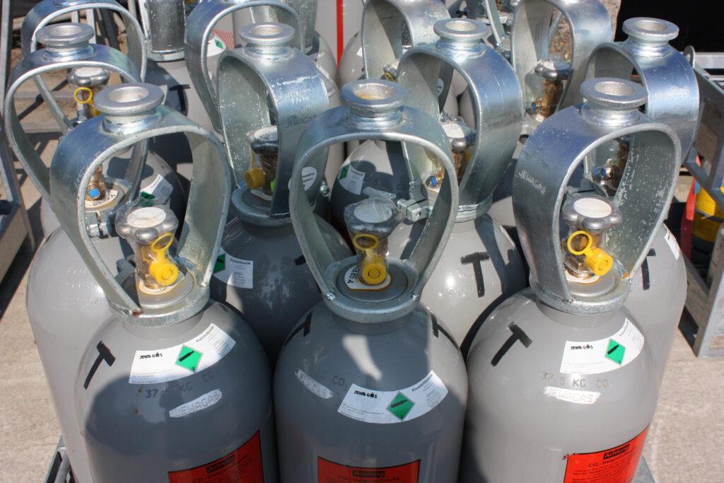 De meest voorkomende fouten bij de opslag van gasflessen