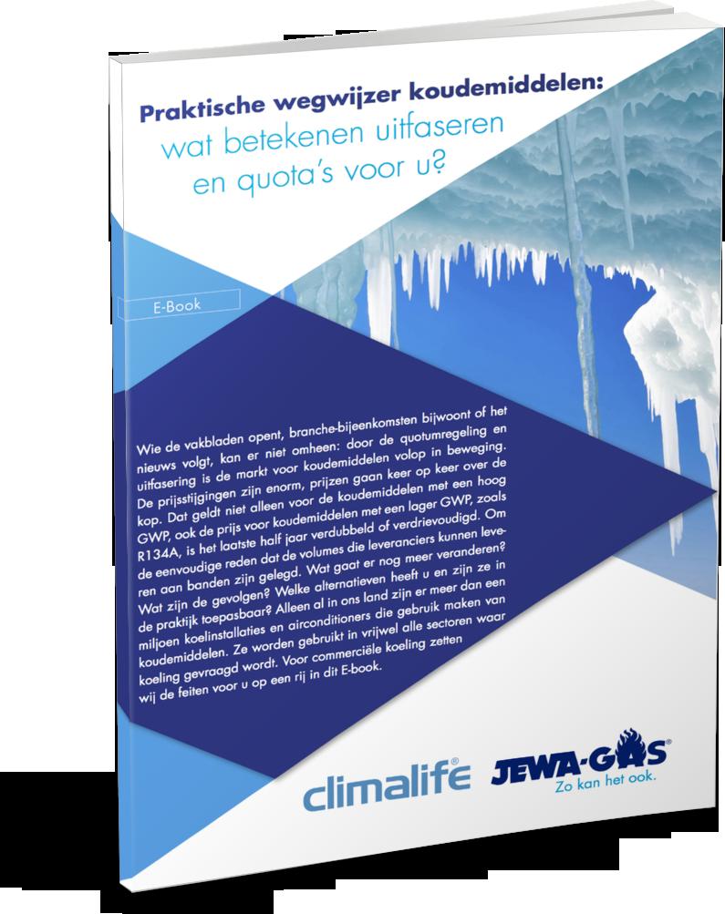 E-book: Praktische wegwijzer koudemiddelen