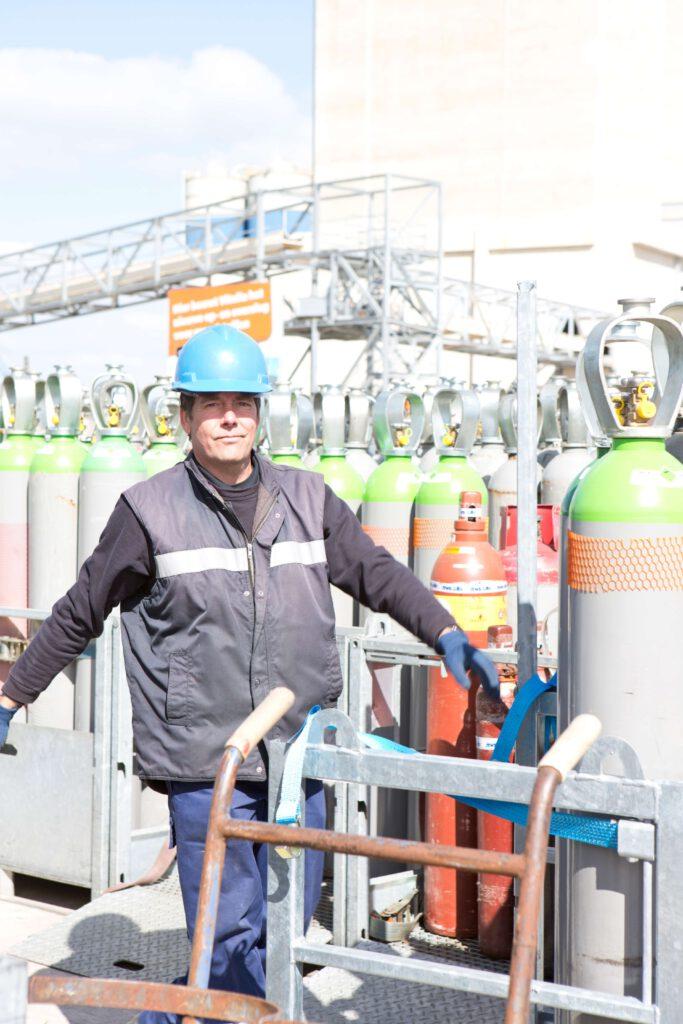 Gascilinders voor industriële gassen: wat de gebruiker moet weten!